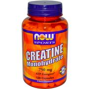 Now Foods,  Sports,  Creatine Monohydrate,  120 Capsules